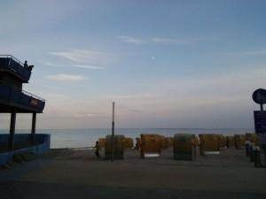 Endlich am Strand.
