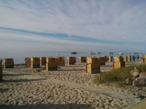 Daaa! Letzter Urlaubstag, früh morgens am Strand.