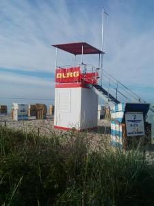 Keiner am Strand