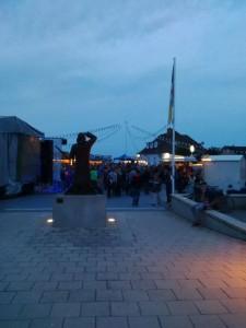 Ich liebe die Konzerte vor der Seebrücke.